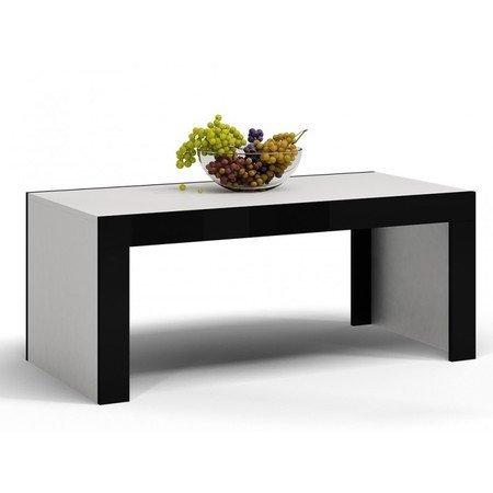 Konferenční stolek DEKO D1 bílá/černá lesk