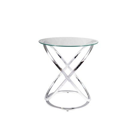 Konferenční stolek EOS C sklo/chrom