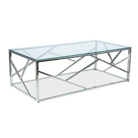 Konferenční stolek ESCADA A chrom/sklo