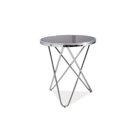 Konferenční stolek FABIA C černá/chrom