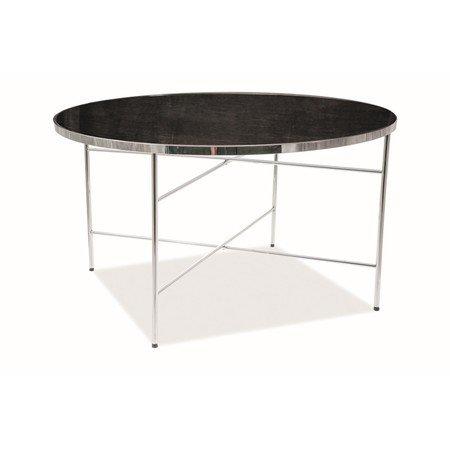 Konferenční stolek IBIZA mramor/chrom