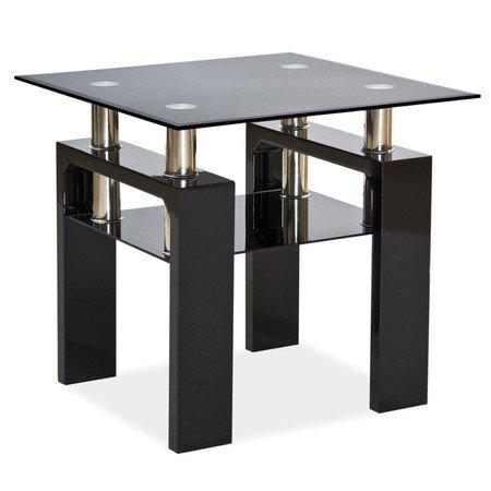 Konferenční stolek LISA D černá lesklá