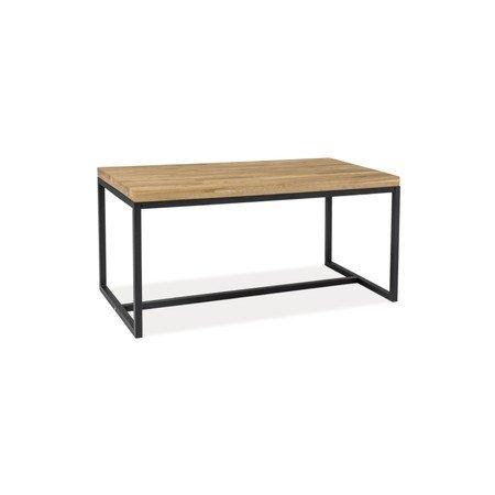 Konferenční stolek LORAS B černá/dub