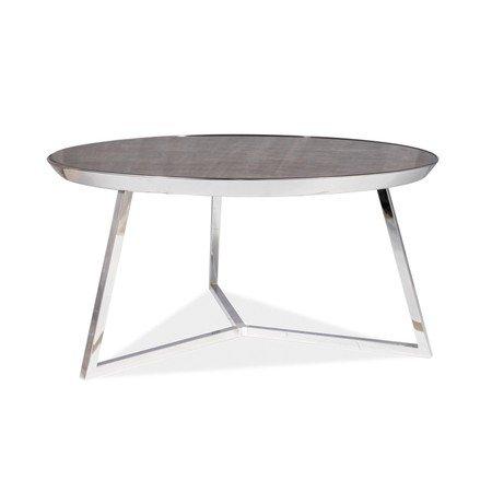 Konferenční stolek TEMIDA B mramor/chrom