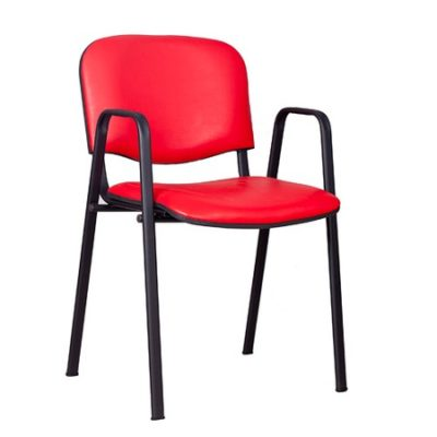 Konferenční židle ISO eko-kůže s područkami Béžová D9 EKO