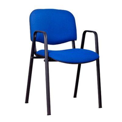 Konferenční židle ISO s područkami C11 - černá