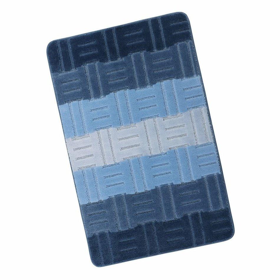 Koupelnová předložka Elli Tamara modrá