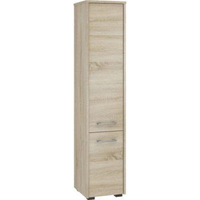 Koupelnová skříňka Fin 2 dvířka dub sonoma