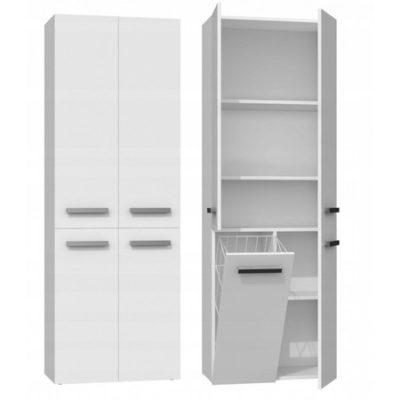 Koupelnová skříňka NEL DD 1K bílý mat