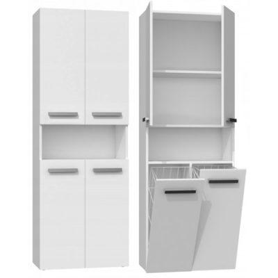 Koupelnová skříňka NEL DK 2K bílá