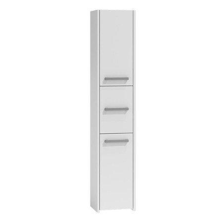 Koupelnová skříňka s regálem 33 bílá