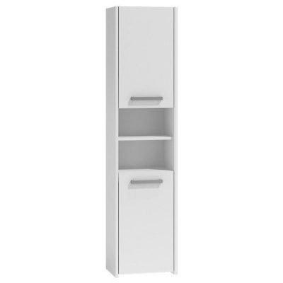 Koupelnová skříňka s regálem 40 bílá