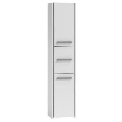 Koupelnová skříňka s regálem 43  bílá