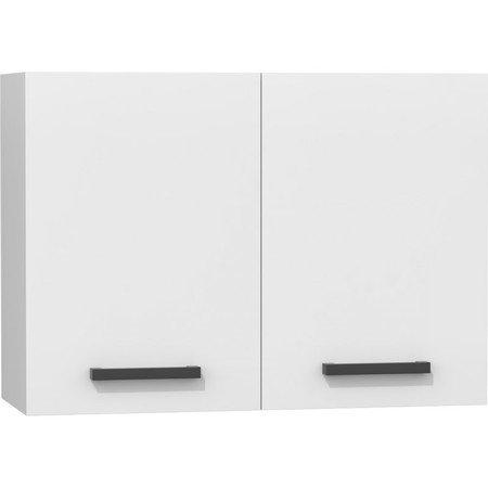 Nástěnná kuchyňská skříňka 80 cm bílá