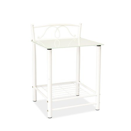 Noční stolek ET-920 bílá