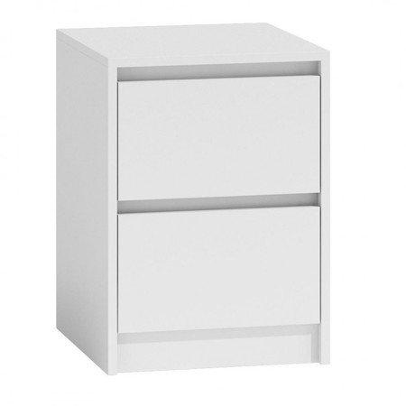 Noční stolek K2 bílý