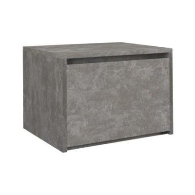 Noční stolek Karo K1 beton