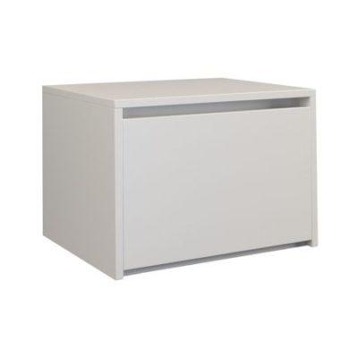 Noční stolek Karo K1 bílý matný