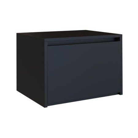 Noční stolek Karo K1 černá matná