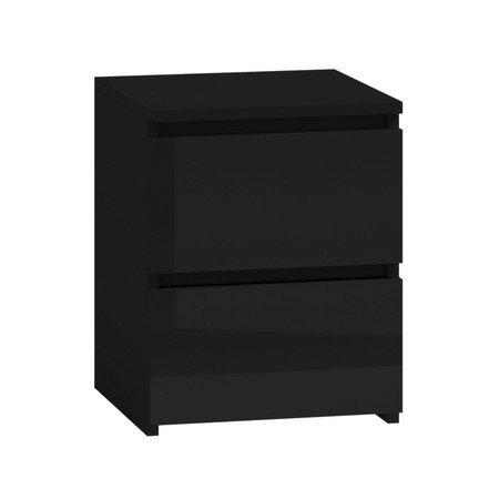 Noční stolek M2 černá