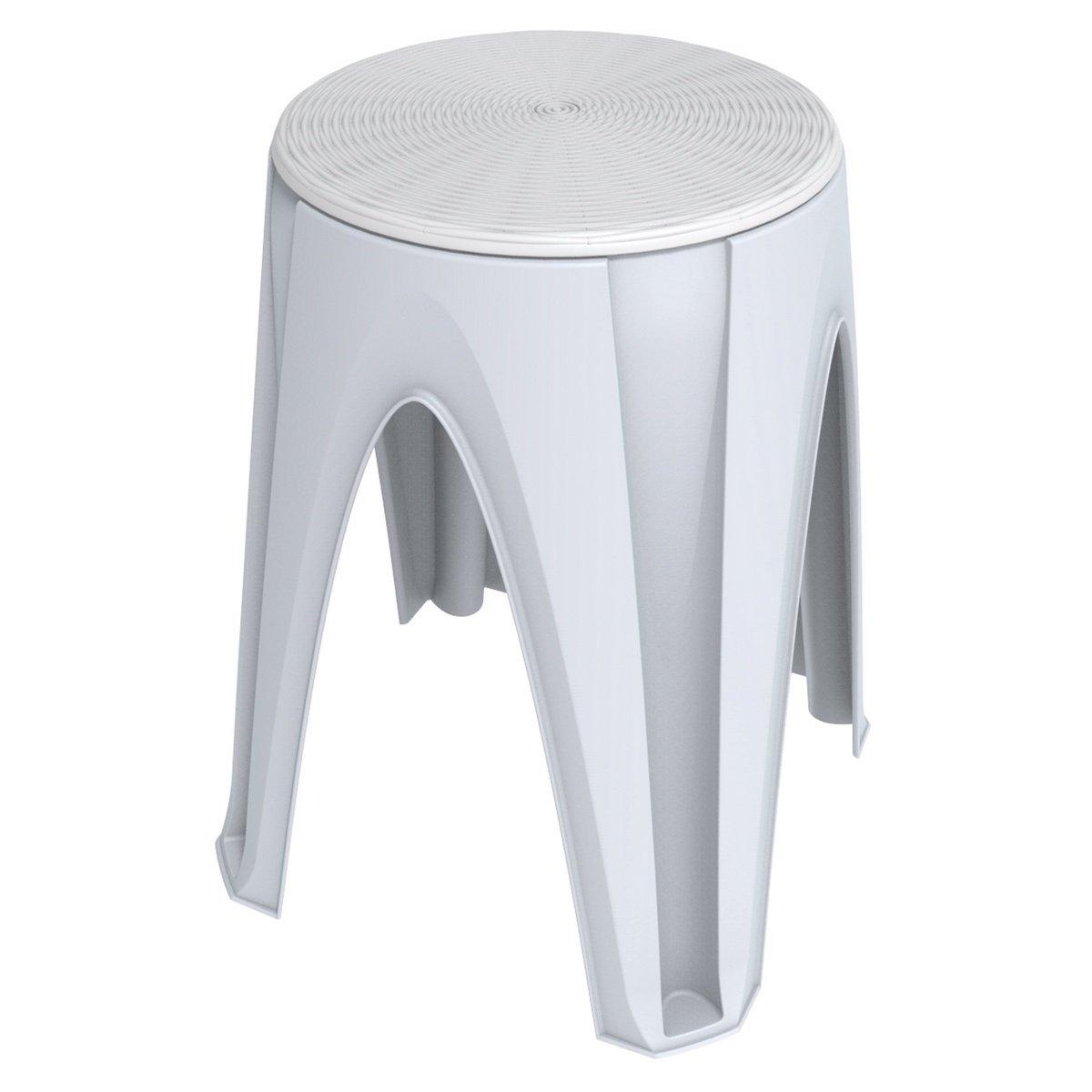 Otočná stolička Girotondo bílá