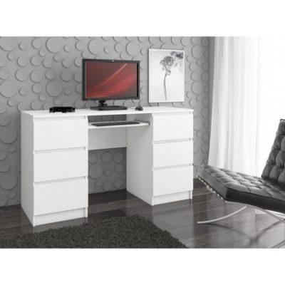 Počítačový stůl A-11 bílá