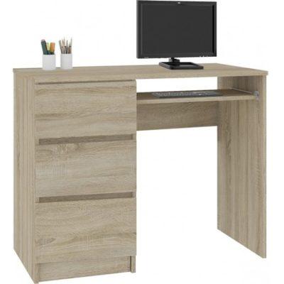 Počítačový stůl A-6 levá dub sonoma
