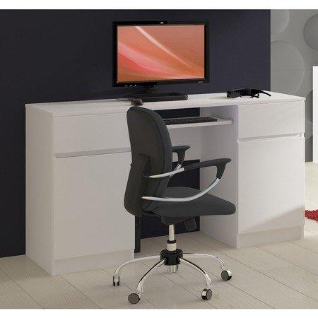 Počítačový stůl A5 bílá