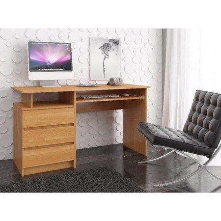 Počítačový stůl CLP 135cm olše