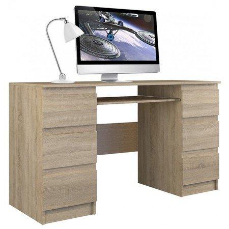 Počítačový stůl KUBA dub sonoma