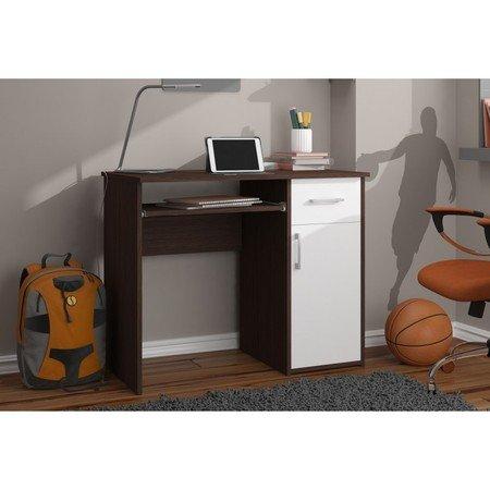 Počítačový stůl PIN wenge/bílá