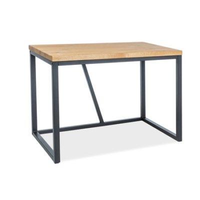 Počítačový stůl SILVIO dub/černá