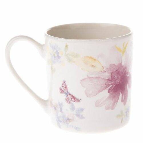 Porcelánový hrneček Flower