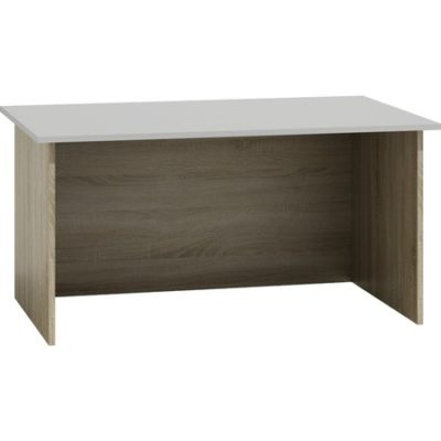 Psací stůl Standard dub sonoma/bílá