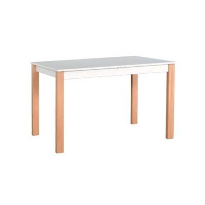 Rozkládací jídelní stůl ALBA 1 Bílá