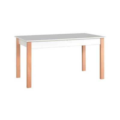 Rozkládací jídelní stůl ALBA 2 Bílá