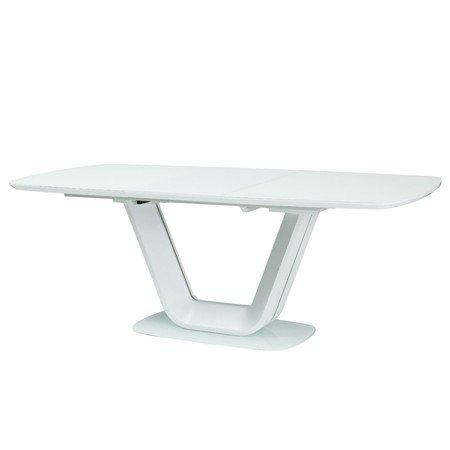 Rozkládací jídelní stůl ARMANI 140x90 bílá