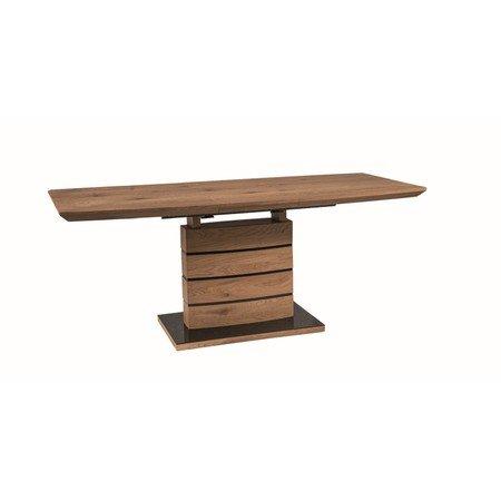 Rozkládací jídelní stůl LEONARDO 140x80 dub