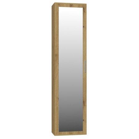 Skříň se zrcadlem DUO dub artisan
