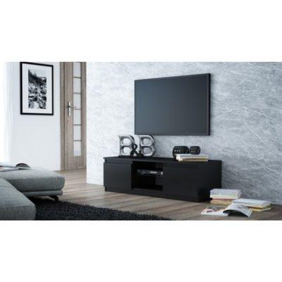 TV stolek LCD glass 120 cm černá