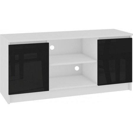 TV stolek RTV 120 lesklá černá
