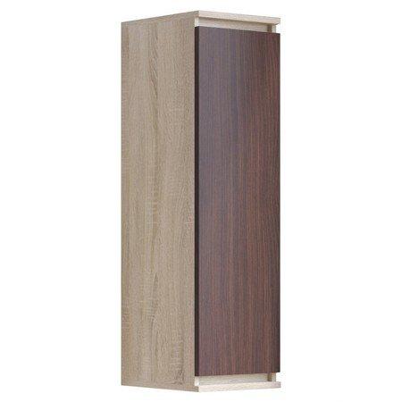 Vitrína CLP W 30cm sonoma/wenge