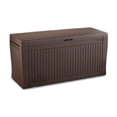 Zahradní truhla COMFY BOX 270L hnědý