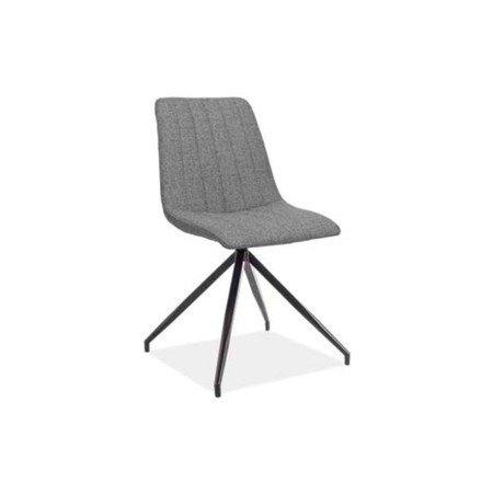 Židle ALAN II černá/šedá