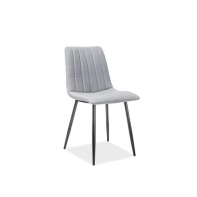 Židle ALAN černá/šedá