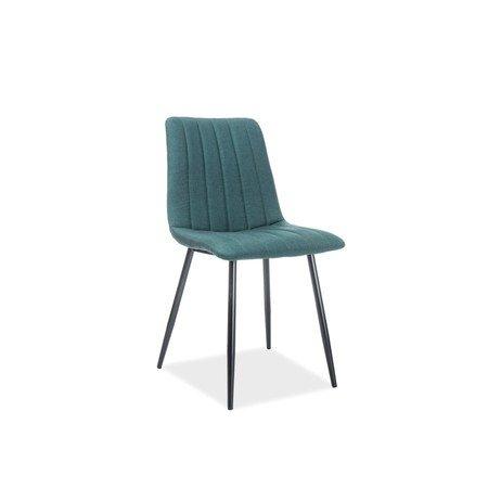 Židle ALAN černá/zelená
