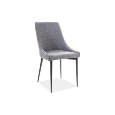 Židle ANIKA černá/šedá