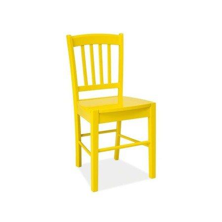 Židle CD-57 žlutá