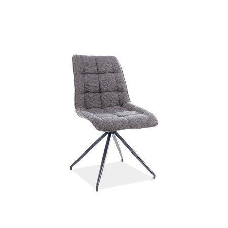 Židle CHIC II černá/šedá