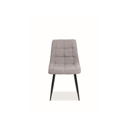 Židle CHIC černá/šedá